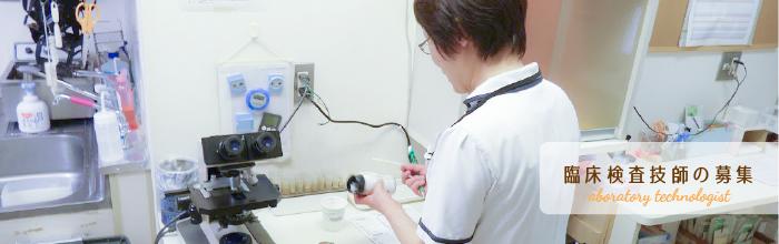 臨床検査技師の募集